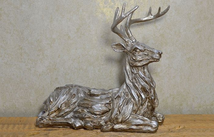 Fiesta Studios Ltd - Silver Stag Animals Wholesale UK